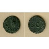 Tiberius CLAUDIUS (I.) Nero Germanicus  Quadrans  ss+  [41]