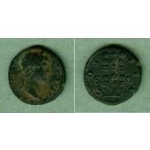 Publius Aelius HADRIANUS  Quadrans  f.vz  selten  [128-132]