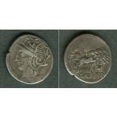 RÖMISCHE REPUBLIK  Denar  ss  [104 v.Chr.]