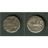 RÖMISCHE REPUBLIK  Denar  ss+/ss  [152 v.Chr.]