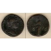 Publius Aelius HADRIANUS  Sesterz  ss  [134-138]