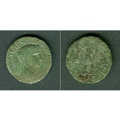 Tiberius CLAUDIUS (I.) Nero Germanicus  barbar. Sesterz