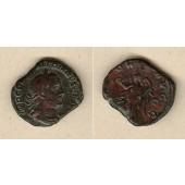 Caius Publius Licinius VALERIANUS I.  Sesterz  ss  selten!  [255-256]