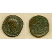Marcus Aurelius SEVERUS ALEXANDER  Sesterz  ss+  [222-231]