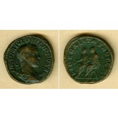 M. Julius Severus PHILIPPUS II. Filius  Sesterz  ss+  selten  [247]
