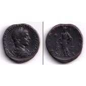 Marcus Aurelius Antoninus Pius Felix ELAGABALUS  Sesterz  ss+  [218-222]