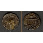 NERO Claudius Caesar  Semis  vz/ss+  selten!  [64-65]