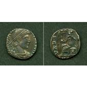 Flavius GRATIANUS  Silber Siliqua  f.vz  selten  [378-383]