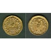 LEO I.  Gold Solidus  vz-stgl.  selten  [457-468]