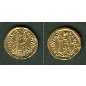 LEO I.  Gold Solidus  ss-vz/vz  selten  [457-468]