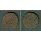 Russland 1/2 Kopeke (Denga) 1747  s