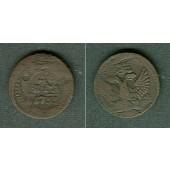 Russland 1/2 Kopeke (Denga) 1753  s