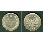 Russland 10 Kopeken 1914 SPB  vz-st