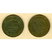 Russland 5 Kopeken 1869 EM  s-ss