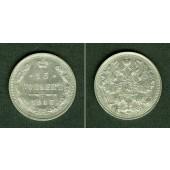 Russland 15 Kopeken 1915  f.st