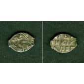 Russland  (Draht-) Kopeke  Peter I.  s-ss  [1682-1725]
