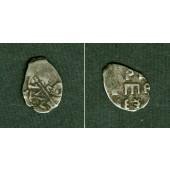 Russland  Tropfkopeke Kopeke  Peter I.  s-ss  [1682-1725]