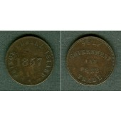 Canada Token PRINCE EDWARD ISLANDS 1857  ss