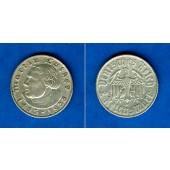 DEUTSCHES REICH 2 Reichsmark (Luther) 1933 D  (J.352)  ss-vz  selten