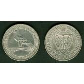 DEUTSCHES REICH 3 Reichsmark (Rheinlandräumung) 1930 F (J.345)  ss-vz  selten