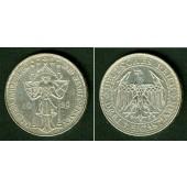 DEUTSCHES REICH 3 Reichsmark (Meißen) 1929 E (J.338)  vz-st