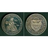 DEUTSCHES REICH 3 Reichsmark (Vogelweide) 1930 A (J.344)  vz/vz-st  selten