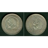 DEUTSCHES REICH 3 Reichsmark (Schwurhand) 1929 F (J.340)  ss-vz