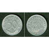 DEUTSCHES REICH 50 Reichspfennig 1939 G (J.372)  ss  selten