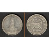 DEUTSCHES REICH 5 Reichsmark 1934 D (J.357)  ss
