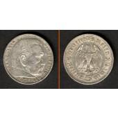 DEUTSCHES REICH 5 Reichsmark 1936 E (J.360)  ss
