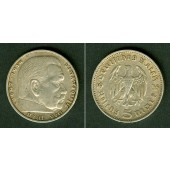 DEUTSCHES REICH 5 Reichsmark 1935 J (J.360)  ss