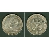 DEUTSCHES REICH 5 Reichsmark 1935 A (J.360)  ss+