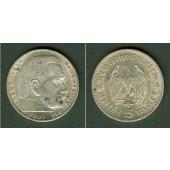 DEUTSCHES REICH 5 Reichsmark 1936 A (J.360)  ss+