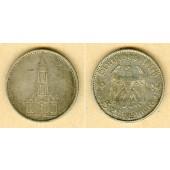 DEUTSCHES REICH 5 Reichsmark 1934 E (J.357)  ss+