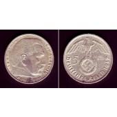 DEUTSCHES REICH 5 Reichsmark 1937 F (J.367)  ss-vz