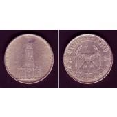 DEUTSCHES REICH 5 Reichsmark 1934 J (J.357)  ss