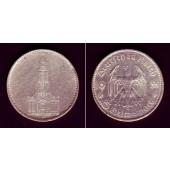 DEUTSCHES REICH 5 Reichsmark 1935 G (J.357)  ss