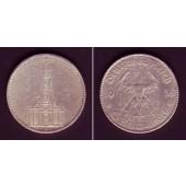 DEUTSCHES REICH 5 Reichsmark 1935 J (J.357)  ss