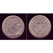 DEUTSCHES REICH 5 Reichsmark 1935 D (J.360)  ss