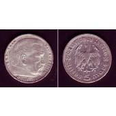 DEUTSCHES REICH 5 Reichsmark 1935 G (J.360)  ss+