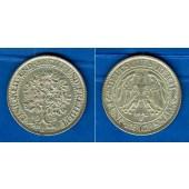 DEUTSCHES REICH 5 Reichsmark (Eichbaum) 1932 F (J.331)  ss+