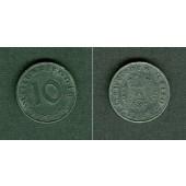 DEUTSCHES REICH 10 Reichspfennig 1943 E (J.371)  ss+