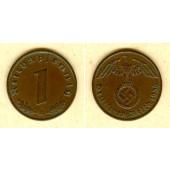 DEUTSCHES REICH 1 Reichspfennig 1936 A (J.361)  vz