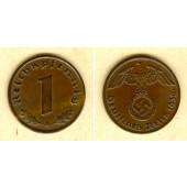 DEUTSCHES REICH 1 Reichspfennig 1936 A (J.361)  vz+