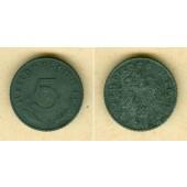 DEUTSCHES REICH 5 Reichspfennig 1942 E (J.370)  vz  selten