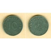 DEUTSCHES REICH 10 Reichspfennig 1943 E (J.371)  ss-vz