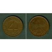 DEUTSCHES REICH 4 Reichspfennig 1932 D (J.315)  ss-vz