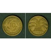 DEUTSCHES REICH 10 Rentenpfennig 1923 F (J.309)  ss+/ss  selten!