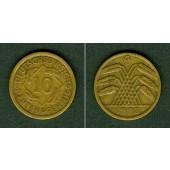 DEUTSCHES REICH 10 Rentenpfennig 1923 G (J.309)  ss+/ss