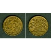 DEUTSCHES REICH 10 Reichspfennig 1931 D (J.317)  ss-vz  selten